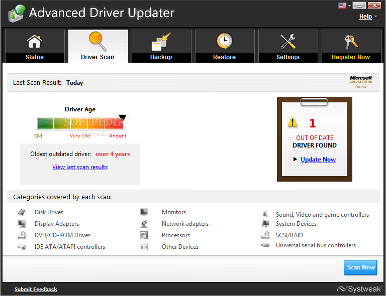 Advanced Driver Updater 10