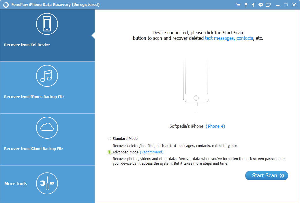 Fonepaw Iphone Data Recovery 6.3.4