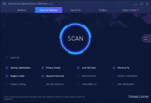 Advanced Systemcare Ultimate 13.3 license