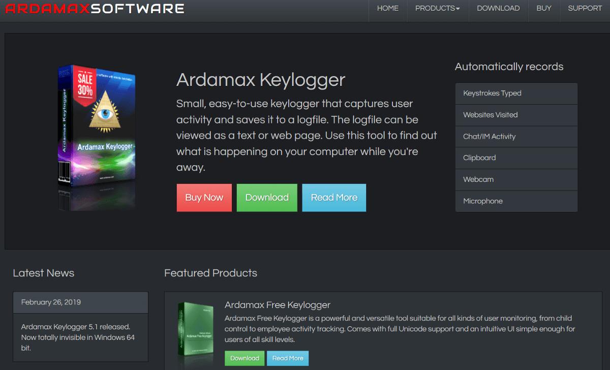 Ardamax Keylogger 5.2 Crack With Registration Key Free Download