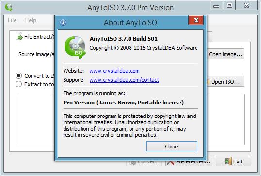 AnyToIso 3.9.6 Crack