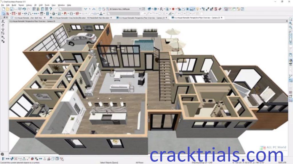 Chief Architect Premier X12 Crack v22.1.1.2 + Keygen Download 2022