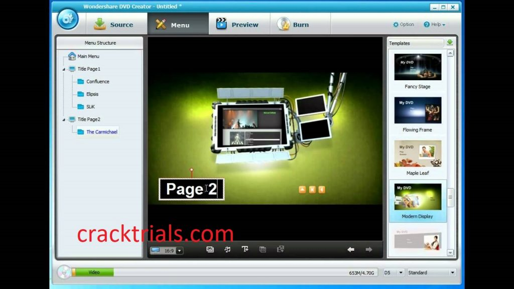 Wondershare DVD Creator 6.6.1 Crack With Keygen 2022